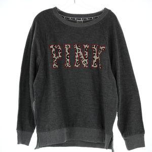 Pink Victoria's Secret VS sweat shirt top NWT